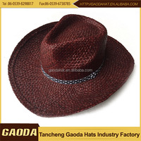 Paper straw wholesale cheap bucket hat for summer