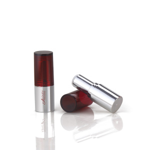 Cosmetic packaging factory fashion silvery empty lipstick tube packaging