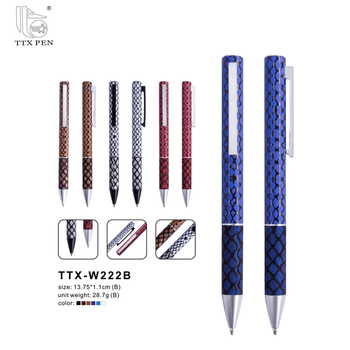 New products promotion leather personalised pens