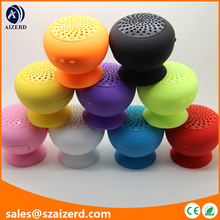 Mini Suction Cup Speaker with Bluetooth Wireless Technology