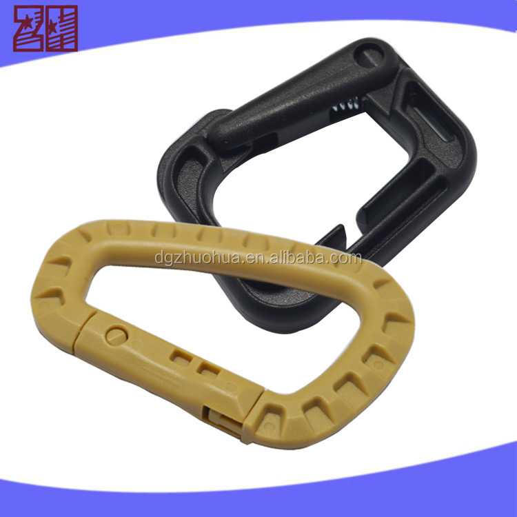 High quality climbing carabiner,plastic carabiner hook clips,swivel carabiner hook
