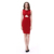 Red christmas wedding dresses Mature ladies dresses African short summer dresses fashion