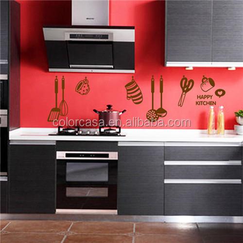Colorcasa personalizado pared de la cocina de azulejos for Pegatinas azulejos cocina