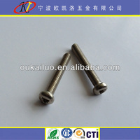 High Quality Triangle Recessed Security Machine Screw
