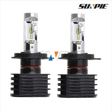 Auto Parts Accessories Car Headlight or Headlamp,3500LM Automotive LED Headlights Bulbs,H13 H4 LED Lights for Cars Hyundai