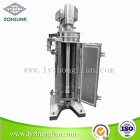 GF-105 Tubular centrifugal separator machine for pig chicken sheep dusk cow cattle blood plasma and blood cell separation