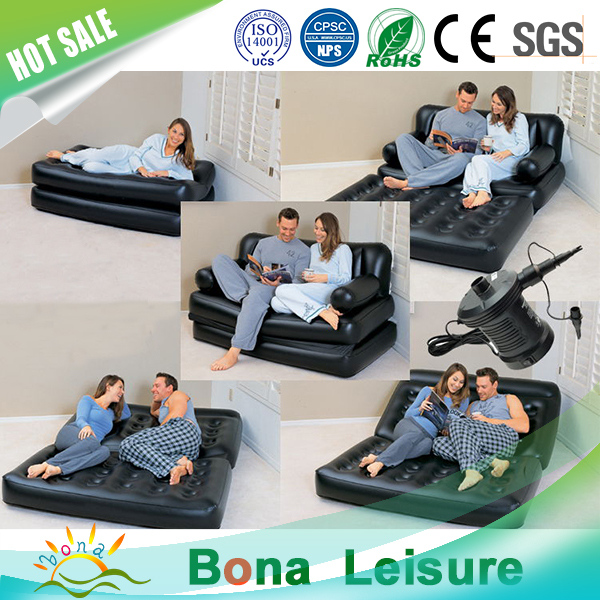 Cozy Inflatable Bestway 5 in 1 Air Sofa Cum Bed