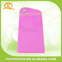 Alibaba china promotional gift felt waterproof mobile phone PVC bag