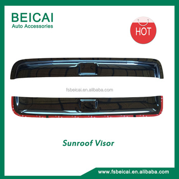Sunroof visors weather visors