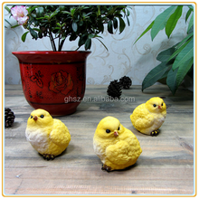 Custom Life Size Home Decorative Polyresin Chicken Figurine Manufacturer
