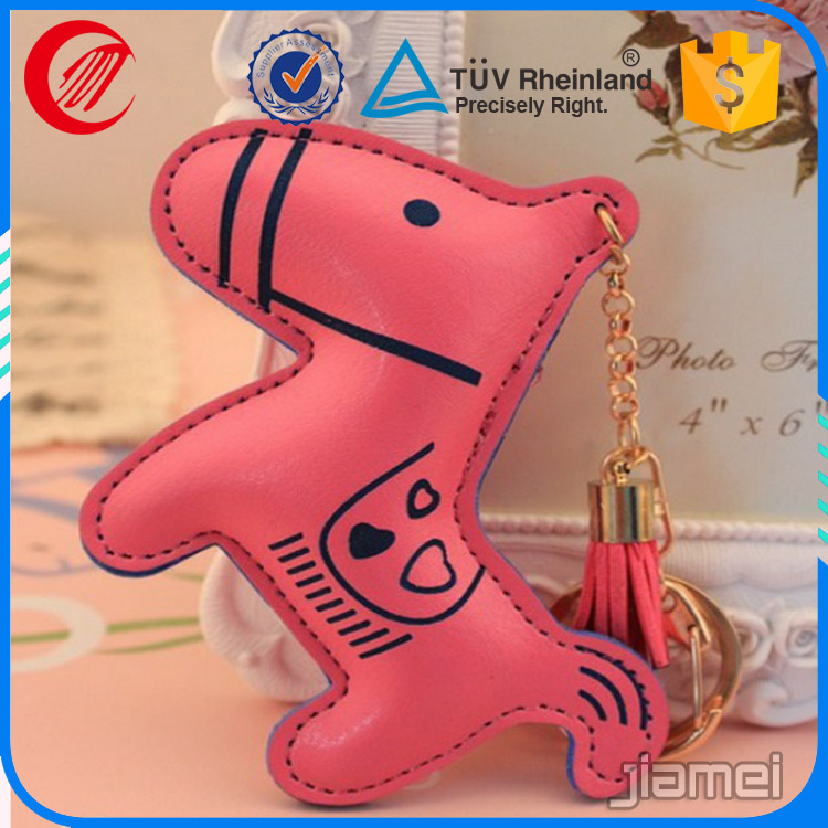 wholesale custom 3d printing fancy leather key fob
