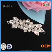 Classical Rhinestone Shoe Clip Ornament for high heel lady women shoes accessories crystal clips