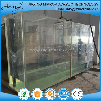 Big size custom acrylic fish tanks
