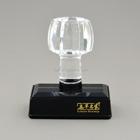 Re20x50mm crystal flash stamp mount