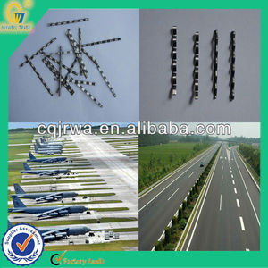 Crimped Low Carbon Steel Fiber For Reinforced Concrete Beam