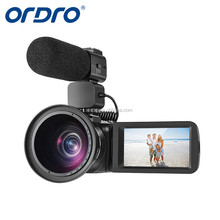Ordro Z82Max.24MP1080P Full HD Digital Video Camera and Camcorders Support accessories MIC