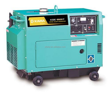 Kama KDE6500T Diesel Power Generator 5.5KW, single phase electric generator
