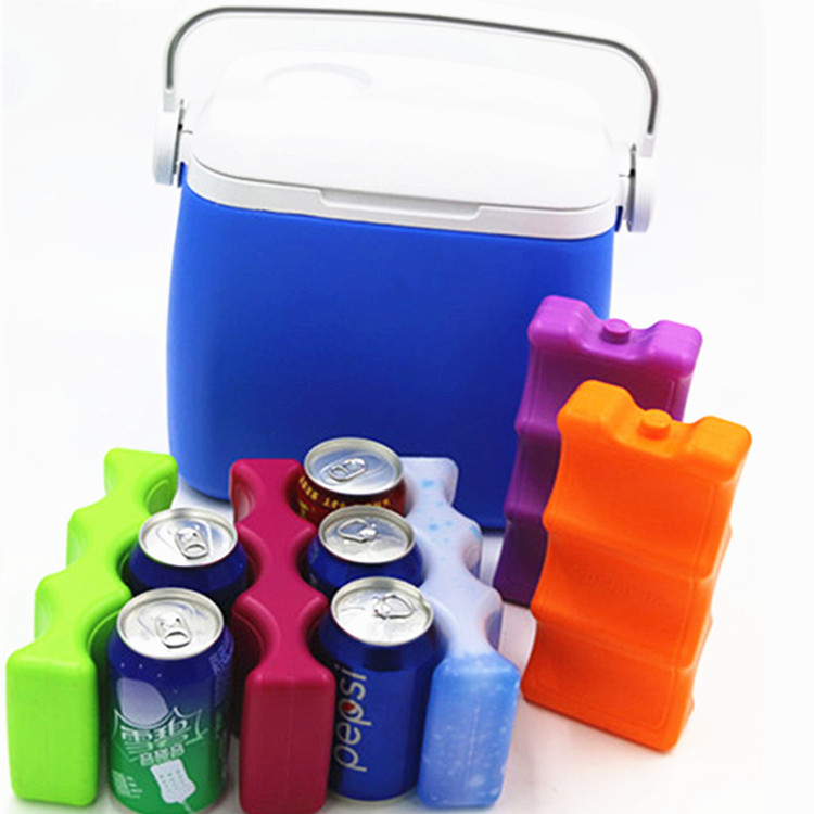 Wholesale PE plastic Wine Use and Insulated,beer cooler Type 6 pack bottle carrier gel ice pack