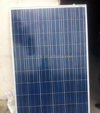 250W Poly crystalline solar panel for Residential Power Systems
