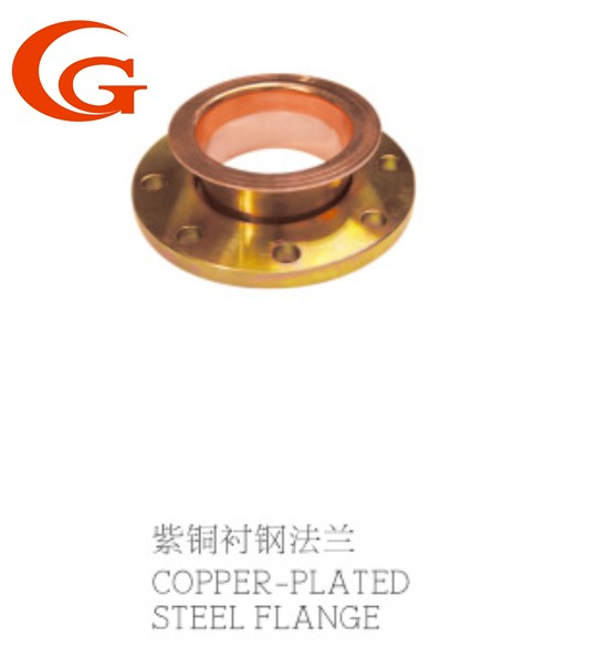 copper plated steel flange chinese manufactures