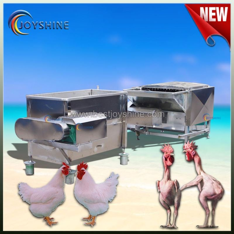 Good performance SUS201 poultry plucking machines best price chicken feather plucker