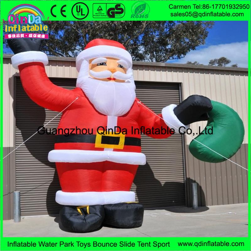 New design cheap price inflatable christmas snowman , christmas santa claus , inflatable christmas
