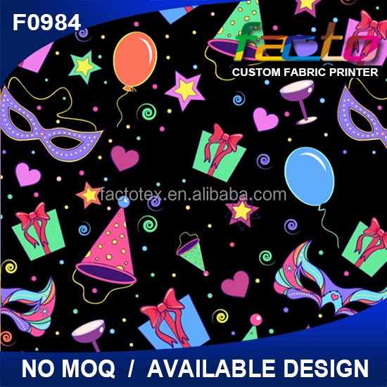 Custom printed Cartoon Good quality wholesale micro fleece fabric