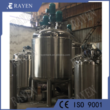 China manufacturer pressure reaction vessel types of chemical reactors