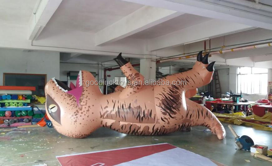 large high quality Inflatable flying dinosaur for advertising/ custom made inflatable dinosaur helium pvc balloon for sale