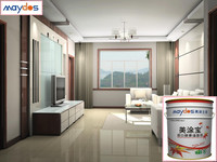 lasting longer odourless anti-fungus and alkaline resistant thicken emulsion paint