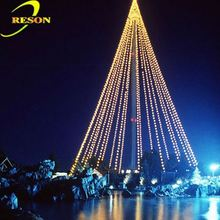 christmas decorations made in china fluorescent christmas tree