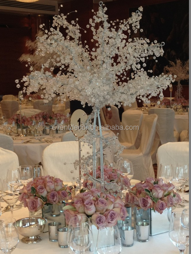 artificial Wedding Tree Centerpieces for weddings table