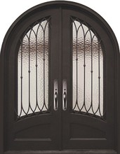Lowes safety iron main arched front entrance door grill designs