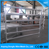 hot china products wholesale metal cattle fence panels