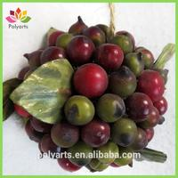 "4"" Outdoor Use Berry Ball Artificial Berries"