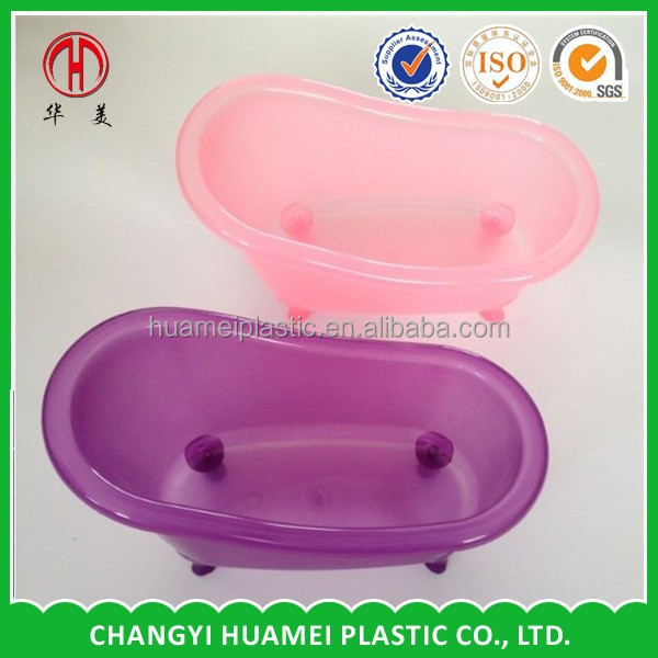 plastic mini bathtub container