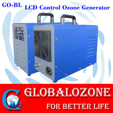 LCD smart control portable air ozone generator for car air purify