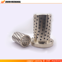 High precision customized hardened steel sleeve bushings