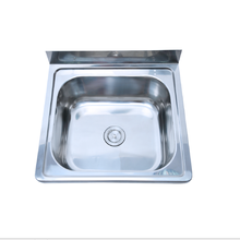 SUS304 wallmounted stainless steel wash basin