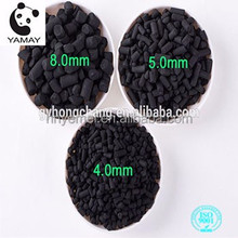 High Quality Wood Based Bulk Black Columnar/Pellet/Powder Activated Charcoal Pellets 6mm for Water Treatment
