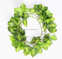 vertical garden wall hanging 240cm Long cheap make fake recycling plastic PE Fairy vine artificial plant EMX10 3030