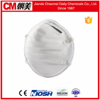 CM hot sale anti-odor cup shape breathing filter mask
