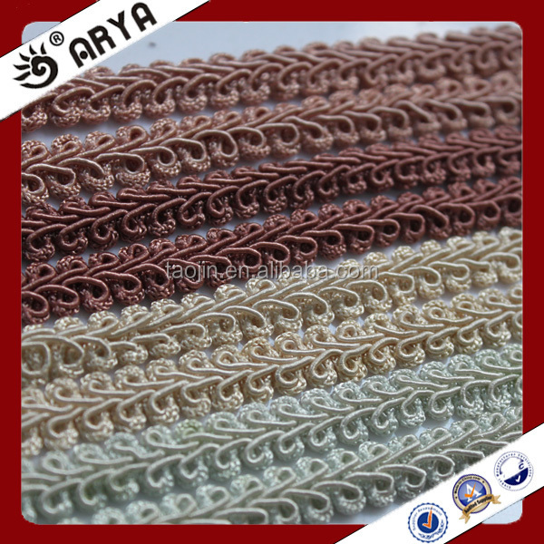 2016 Stock Product Big Bargain for Curtain Accessories Home and Decor of Thin Curtain Gimp Fringe