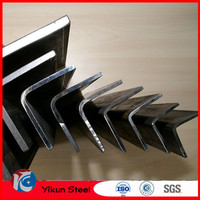 50x50x5 mild equal and unequal angle steel perforated angle iron bar