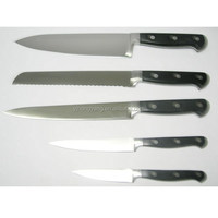 High Quality Stainless Steel knife set solingen for kitchen utensils