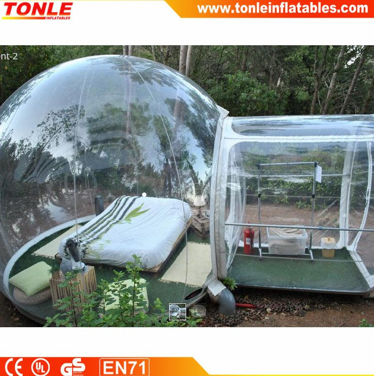 Clear Inflatable Lawn Tent Inflatable Transparent Tent Inflatable Bubble Tent