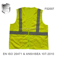high visibility American work reflective safety clothes