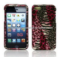 Colorful Zebra Snap-On Case Protector Hard Cover Compatible for Apple Iphone 5