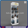 TSD-W145 Custom design floor standing wooden ciroc vodka bottle display,alcohol pop display,wine display showcase