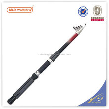 TSR061 chinese fishing tackle china fishing gear tele spin fibre glass fishing rod tele spin pole